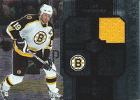 2005-06 Upper Deck Black Diamond JOE THORNTON Jersey Yellow NHL 01700