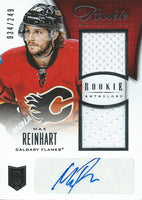 2013-14 Rookie Anthology MAX REINHART Auto Jersey RC 34/249 01672