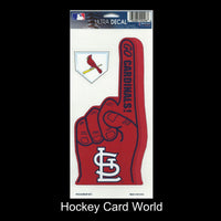 St.Louis Cardinals Multi-Use Decal/Sticker 2 Pack Finger/Base MLB 4