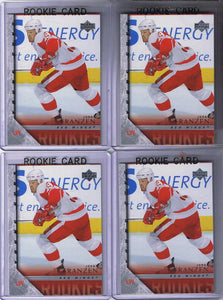 2005-06 Upper Deck YG JOHAN FRANZEN Young Guns Rookie Red Wings 02324