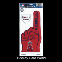 Los Angeles Angels Multi-Use Decal/Sticker 2 Pack Finger/Base MLB 4