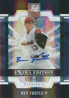 2009 Donruss Elite Extra Edition BEN TOOTLE 56/825 Auto Turn of 01405