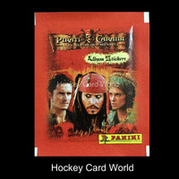 Panini Pirates Of The Caribbean At Worlds End Album Sticker Pack