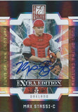 2009 Donruss Elite Extra Edition MAX STASSI #/810 Auto Turn of Century