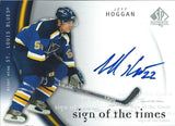 2005-06 SP Authentic JEFF HOGGAN Sign of Times Autograph Auto 00233