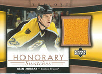 2005-06 Upper Deck Trilogy Honorary Swatches GLEN MURRAY Jersey 02560