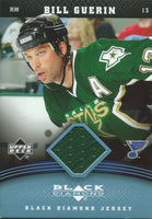 2006-07 Upper Deck Black Diamond Fabrics BILL GUERIN Jersey 02569