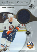 2005-06 Upper Deck SP Game Used Fabrics MARK PARRISH Jersey 02578