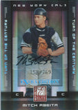 2008 Donruss Elite Extra Edition MITCH ABEITA 158/769 Auto Century 01437