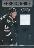 2012-13 Panini Certified Fabric Game SCOTT GLENNIE 28/200 Jersey 02608