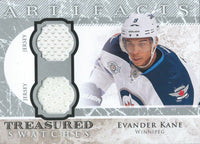 2012-13 Upper Deck Artifacts Swatches EVADER KANE Dual Jersey 02609
