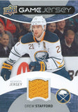 2012-13 Upper Deck Game Jerseys DREW STAFFORD Authentic UD Jersey 00812