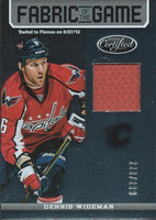 2012-13 Certified Fabric of the Game DENNIS WIDEMAN 228/299 Jersey 00800