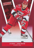 2010-11 Upper Deck Victory Red JUSSI JOKINEN Carolina Hurricanes 00648