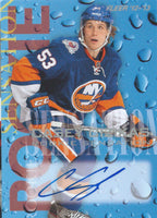 2012-13 Fleer Retro Rookie Sensations CASEY CIZIKAS Auto NHL 02642