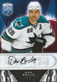 2009-10 Upper Deck Be A Player DAN BOYLE Signature Autograph NHL 02644