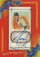 2010 Topps Allen and Ginter RYAN PERRY Autograph Auto Topps MLB 01288