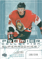 2003-04 UD Premier Collection JULIEN VAUCLAIR RC Rookie 190/399 00892