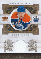 2010-11 Crown Royale MAGNUS PAAJARVI 138/250 Jersey Throne Materials 00789