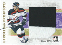 2007-08 ITG Heroes and Prospects MICHAL REPIK TP Jersey 02308