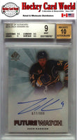 2011-12 SP Authentic ZACK KASSIAN Auto RC BGS 9 - 677/999 BGS 10 Auto