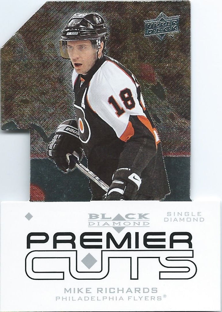 2008-09 Black Diamond Premier Die-Cut MIKE RICHARDS UD Flyers 00641