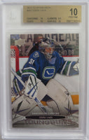 2013-14 Upper Deck EDDIE LACK BGS 10 Young Guns YG RC Vancouver Canucks