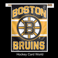 Boston Bruins Licensed Vertical Flag 27