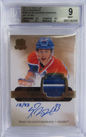 2011-12 The Cup Gold RYAN NUGENT-HOPKINS BGS 9 Rainbow 13/93 BGS 10 RC