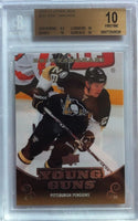 2010-11 Upper Deck ERIC TANGRADI BGS 10 Pristine Young Guns RC Penguins YG