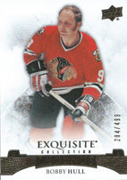 2015-16 Upper Deck Exquisite Collection BOBBY HULL 284/499 NHL 02070