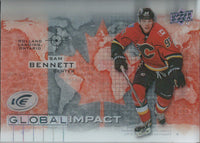 2015-16 Upper Deck Ice Global Impacts SAM BENNETT UD NHL 02062