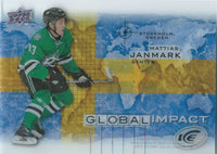2015-16 Upper Deck Ice Global Impacts MATTIAS JANMARK UD NHL 02055