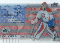 2015-16 Upper Deck Ice Global Impacts MIKE CONDON UD NHL 02053