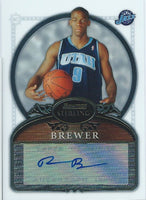 2006-07 Bowman Sterling RONNIE BREWER Auto RC Rookie Autograph NBA 01601