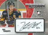 2007-08 ITG Heroes and Prospects ZACK TORQUATO Auto Autographs 00516
