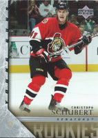 2005-06 Upper Deck CHRISTOPHER SCHUBERT Young Guns Rookie RC 02342