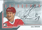2013-14 ITG Decades 1990's JOHN DRUCE Autograph Auto In The Game 01356