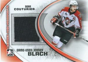 2011-12 ITG Heroes and Prospects Black SEAN COUTURIER /100* Jersey 02303