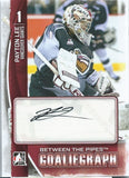 2013-14 Between the Pipes PAYTON LEE Autograph Auto Goaliegraph 00455