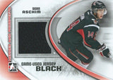 2011-12 ITG Heroes and Prospects Black SEAN ASCHIM /100* Jersey 02301