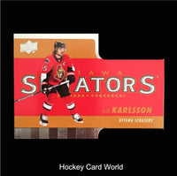 2015-16 Upper Deck Tim Hortons #TH4 ERIK KARLSSON Die Cut Hockey 01370