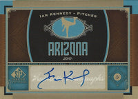 2012 SP Signature IAN KENNEDY Autograph Signatures Upper Deck UD 01238