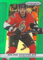 2013-14 Panini Prizm Green #74 MILAN MICHALEK NHL Senators 00591
