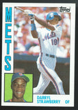 1984 Topps #182 DARRYL STRAWBERRY Rookie RC Baseball MLB 02469