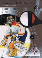 2005-06 SP Game Used ROBERTO LUONGO Patch 17/75 $250 *3 colors Panthers