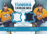 2013-14 Upper Deck Artifacts HORNQVIST/SMITH Dual Jersey UD NHL 01902