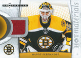 2007-08 Hot Prospects Hot Materials MANNY FERNANDEZ Jersey NHL 01897