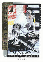 1996-97 Be A Player BYRON DAFOE Auto Autographs Pinnacle Kings 00358