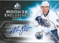 2010-11 SP Game Used Rookie Exclusives Auto MAGNUS PAAJARVI 58/100 00161